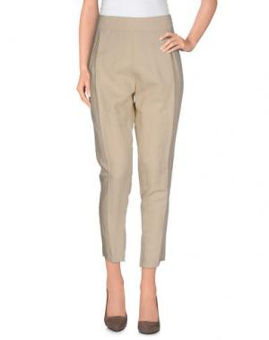 Повседневные брюки GUARAPO. Цвет: песочный
