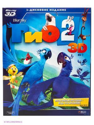 Мультфильм Рио 2 3D НД плэй. Цвет: голубой, фиолетовый, зеленый