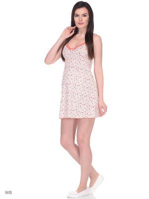 Ночная сорочка Hunny Mammy. Цвет: коралловый, персиковый
