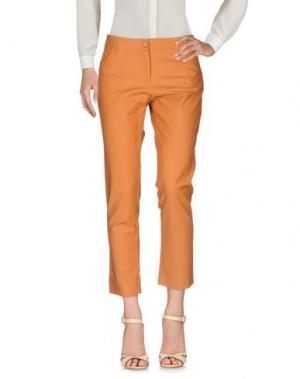 Повседневные брюки KORALLINE. Цвет: верблюжий