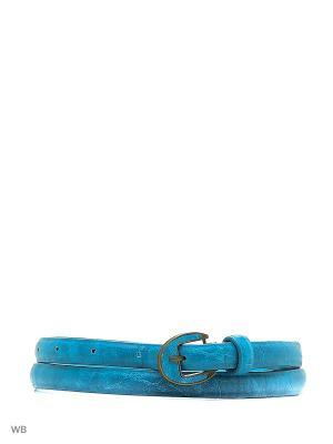 Ремень Colin's. Цвет: голубой