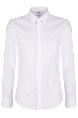 Рубашка oodji. Цвет: оптический белый