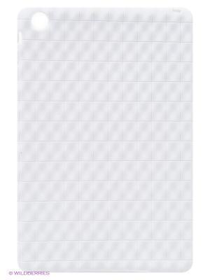 Чехол для iPad mini Relievo (белый). Kawaii Factory. Цвет: белый