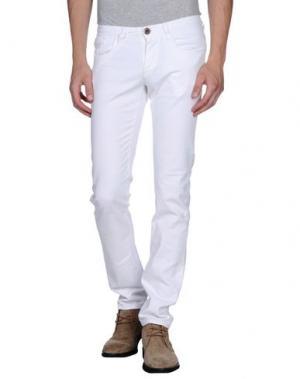 Джинсовые брюки IT'S MET. Цвет: белый