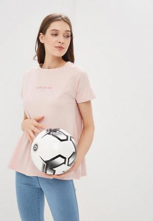 Футболка домашняя OVS. Цвет: розовый