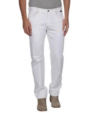Повседневные брюки BETWOIN. Цвет: белый