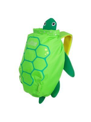 Рюкзак для бассейна и пляжа Черепаха TRUNKI. Цвет: зеленый, желтый