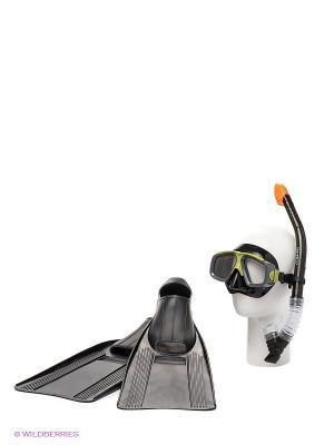 Плавательный набор Серфингист Intex. Цвет: черный