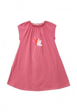 Платье Il Gufo. Цвет: розовый