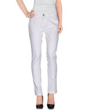 Повседневные брюки NORTH SAILS. Цвет: белый