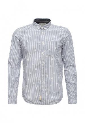 Рубашка Tom Tailor Denim. Цвет: голубой