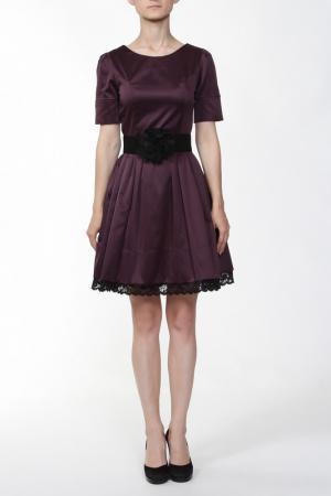 Платье Анора. Цвет: лиловый