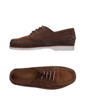 Обувь на шнурках G.H. BASS & CO. Цвет: верблюжий