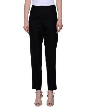 Повседневные брюки METRADAMO. Цвет: черный
