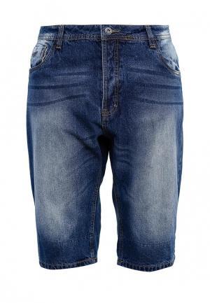 Шорты джинсовые MeZaGuz. Цвет: синий