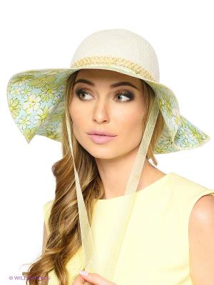 Шляпа FOMAS. Цвет: бежевый, желтый