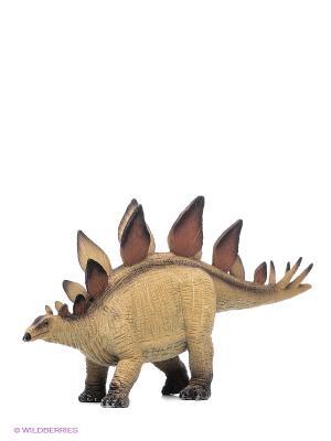 Stegosaurus XXL/Стегозавр MOJO. Цвет: коричневый, бежевый