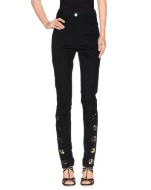 Джинсовые брюки ANTHONY VACCARELLO. Цвет: черный