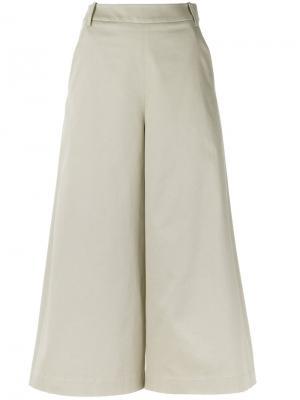 Cropped trousers Gloria Coelho. Цвет: телесный