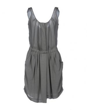 Платье до колена GOLD CASE SOGNO. Цвет: светло-серый