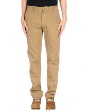 Повседневные брюки SEAL KAY INDEPENDENT. Цвет: верблюжий