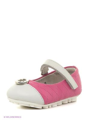 Туфли Vitacci. Цвет: розовый, молочный