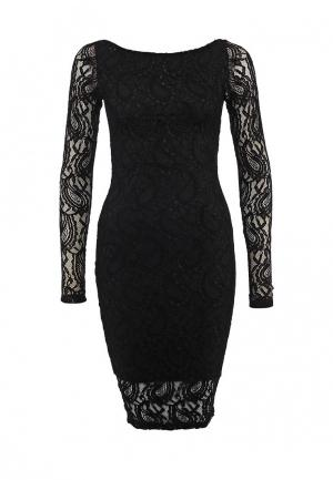 Платье Madmilk. Цвет: черный
