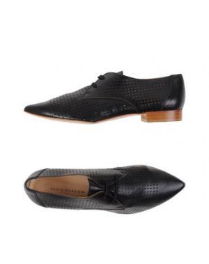 Обувь на шнурках FABIO RUSCONI. Цвет: черный