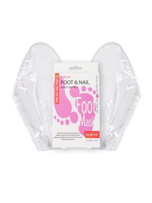 Маска для ног - увлажнение кожи и ногтей, 2*20 мл SHIFEI. Цвет: прозрачный