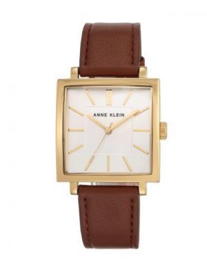 Часы ANNE KLEIN. Цвет: коричневый