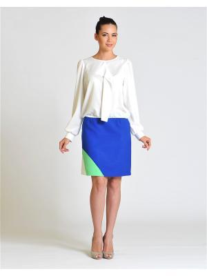 Блуза D.VA. Цвет: белый