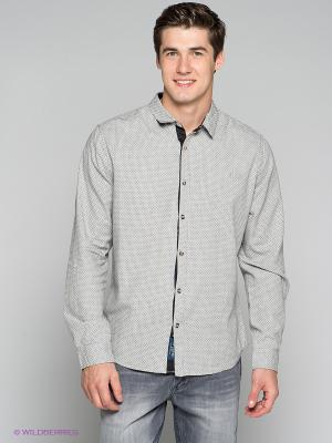 Рубашка LEE COOPER. Цвет: серый