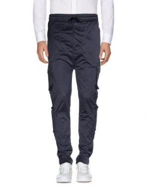 Повседневные брюки I LOVE UGLY. Цвет: серый