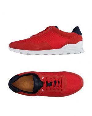 Низкие кеды и кроссовки CLAE. Цвет: красный