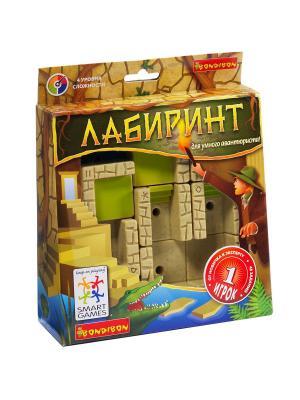 Логическая игра Bondibon Лабиринт , арт. SG 440 RU.. Цвет: бежевый, коричневый