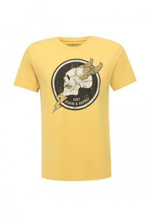 Футболка Denim & Supply Ralph Lauren. Цвет: желтый