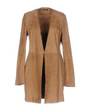 Легкое пальто HANITA. Цвет: хаки