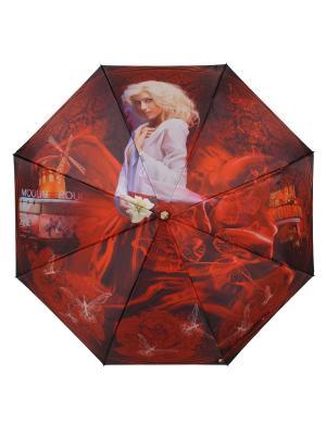 Зонт Moulin Rouge DAIS. Цвет: красный, белый