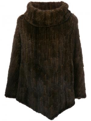 Жакет с высоким воротником S.W.O.R.D 6.6.44. Цвет: коричневый