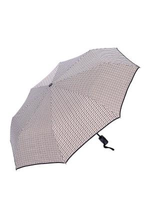 Зонт складной NUAGES. Цвет: белый, коричневый, черный