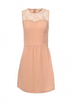 Платье By Swan. Цвет: бежевый