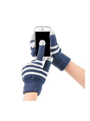 Перчатки GREZZO. Цвет: серый