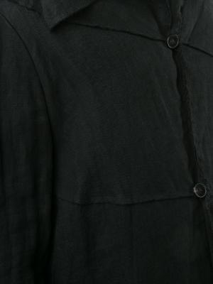 Легкая куртка на пуговицах Ma+. Цвет: чёрный