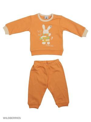 Пижама MANAI. Цвет: оранжевый