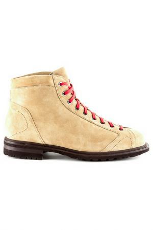 Ботинки Santoni. Цвет: бежевый