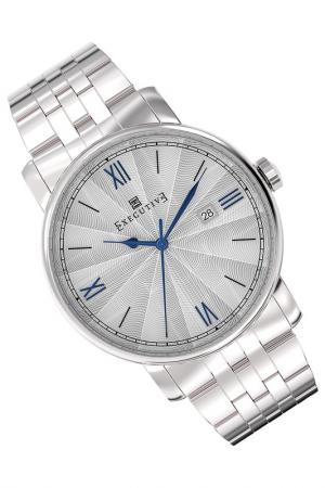 Часы Executive. Цвет: серый