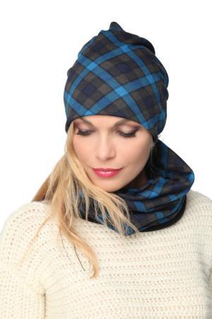 Манишка LakMiss. Цвет: голубой, серый
