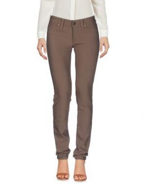 Повседневные брюки S.O.S by ORZA STUDIO. Цвет: хаки