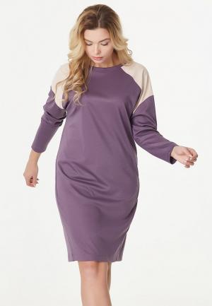 Платье Fly. Цвет: фиолетовый