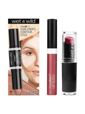 Подарочный набор WnW 57 Wet n Wild. Цвет: розовый